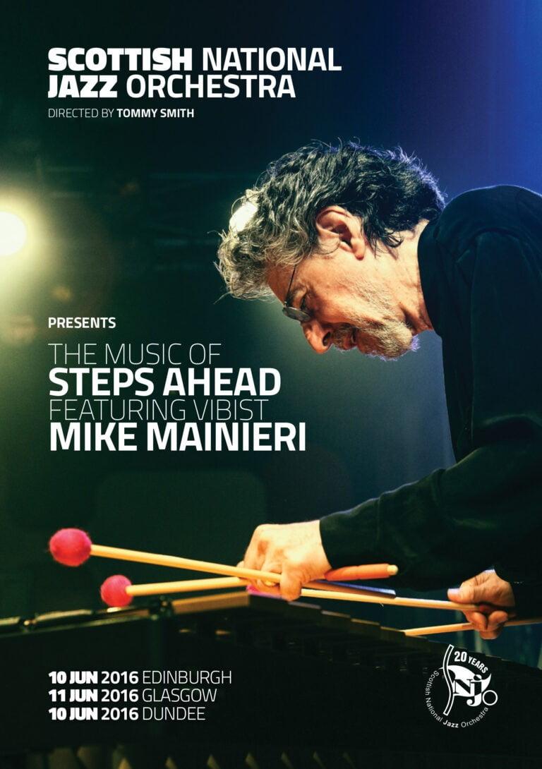 SNJO Mike Mainieri programme cover